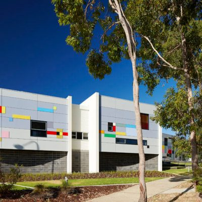 1_DWA Architects_Wanneroo Secondary College_Music Dance_Exterior 4
